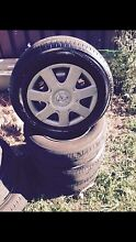 "15"" Rims and tyres 5  114 Granville Parramatta Area Preview"