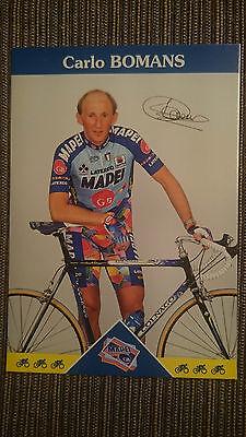 AK m.Druck.AG Carlo Bomans Team Mapei 1997 Rarität