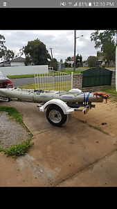 14ft Custom built Kayak/Tinny trailer Tamworth Tamworth City Preview