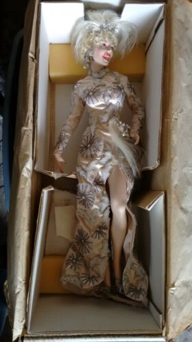 Franklin Mint Heirloom Marilyn Monroe Doll Theres No Business Like Show Business