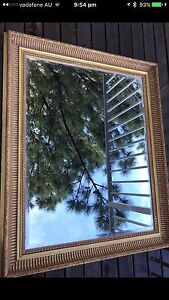 Retro mirror beveled edge North Willoughby Willoughby Area Preview