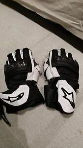 Alpinestars SP1 Motorcycle gloves size small/8 Southbank Melbourne City Preview