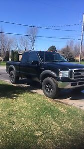 F-250 diesel powerstroke 2005 6.0l turbo  4x4 super duty XLT