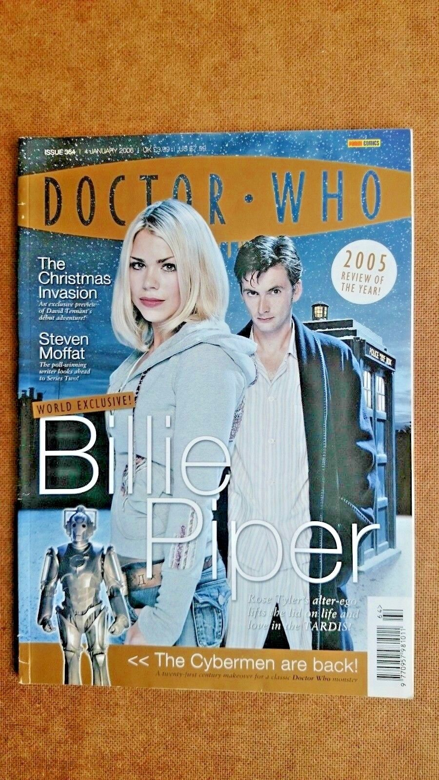 Doctor Who Magazine issue 364 Billie Piper