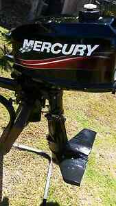 Mercury 4hp motor excellent condition Cleveland Redland Area Preview