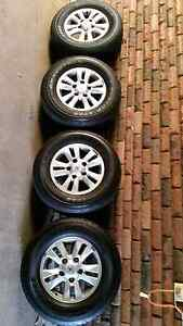 Wheels with tyres Sefton Bankstown Area Preview