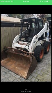 Bobcat jobs and truck hire