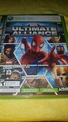 Marvel Ultimate Alliance & Forza 2 (2 game discs) for Xbox 360 comprar usado  Enviando para Brazil