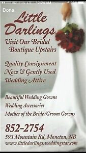 Little Darlings ~ Wedding Gowns starting at $99.99 also layaway