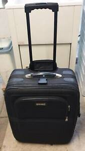 Black Suitcase Trolley, Medium Size