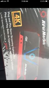 AVERMEDIA 2PLUS 4K GAMING RECORDER AND STREAMER (NEW)