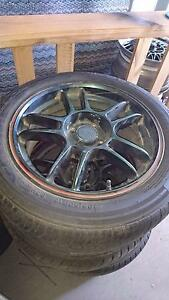 """16"""" alloys 4x100 pattern witn new tyres Bagdad Southern Midlands Preview"""
