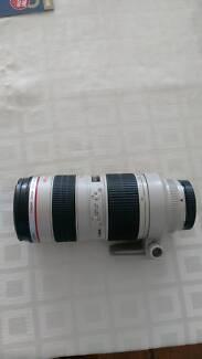 Canon 70-200mm f/2.8 L Lens, Canon 24-70mm f/2.8L Lens