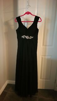Black formal dress with matching jewellery  Baldivis Rockingham Area Preview