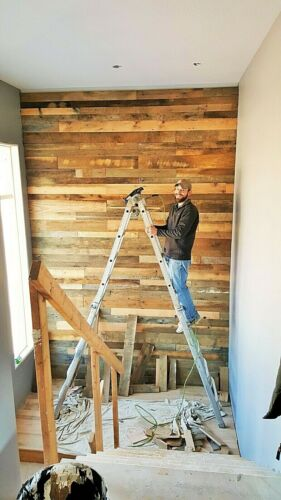 """*10 SQ. FOOT(2 1/2"""" WIDE) RECLAIMED WOOD ACCENT WALLBOARDS FROM BARN LUMBER"""