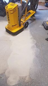 1$ concrete grinding and levelling