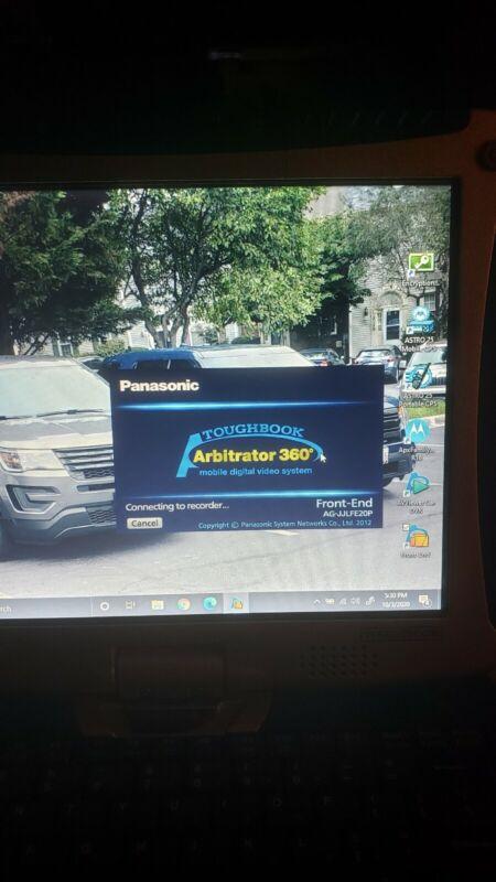 Panasonic arbitrator police video equipment SOFTWARE & AV VEIWER AG-JJLFE-20P