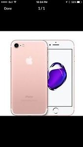 Apple iPhone 7 like new! Locked with rogers 32 gb