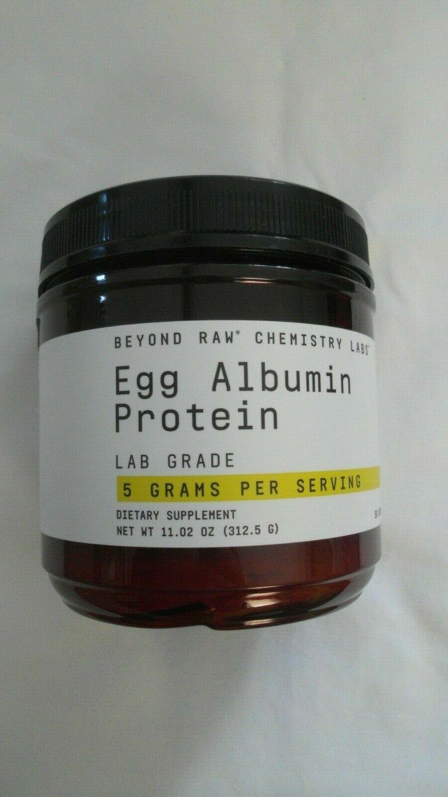 Beyond Raw Egg Albumin Protein Lab Grade 11.02 Oz 50 Servings