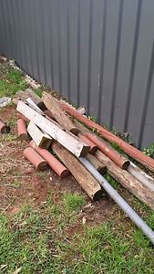 Post and timber Reynella East Morphett Vale Area Preview