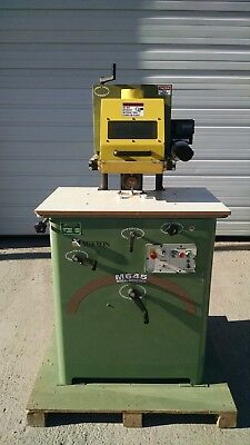 Mikron M645 Multi-moulder Straight Arch Radius Moulding Machine 7.5 Hp 230v