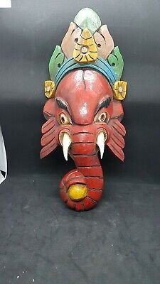 Ganesh Mask Nepali Tibetan Indonisian