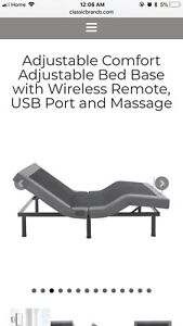 Classic Brands Adjustable Bed Base