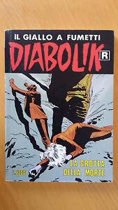 DIABOLIK R n. 424 La grotta della morte Prima ristampa 1996 Ottimo - Italia - L'oggetto può essere restituito se non è quello della/delle foto e previo assenso del venditore - Italia
