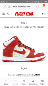 Nike Dunk Supreme Collectables