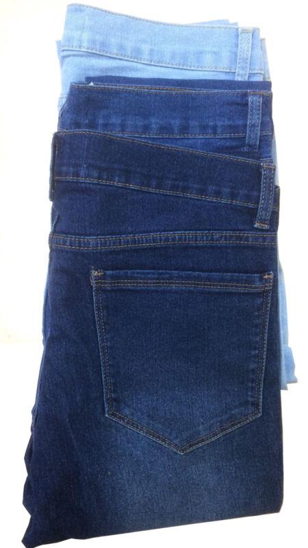 7f93303b ... Ladies New Ex Zara woman Sand wash Denim Spandex Jeans Trouser ...