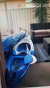 Kayak 1 person with white paddle for sale Kadina Copper Coast Preview