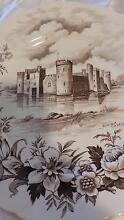 Olde Castle large Plate Alfred Meakin England North Ipswich Ipswich City Preview