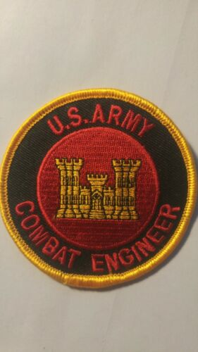 US ARMY COMBAT ENGINEER RARE  CUSTOM MADE embroidered patch