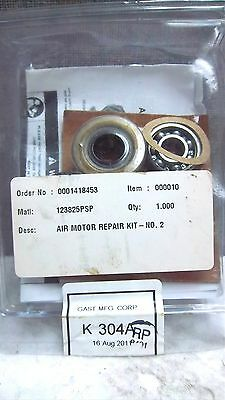 Gast Mfg Corp Air Motor Repair Kit No. 2 123825psp K 304a New K304a