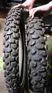 Dirt bike tyres tires Abermain Cessnock Area Preview