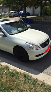2008 White Infiniti G35x Clean Low Kms