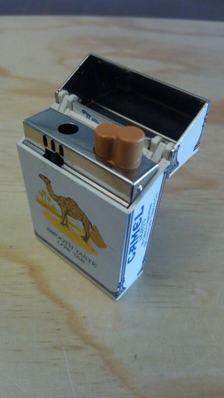 Vintage Camel Lights Cigarette Lighter