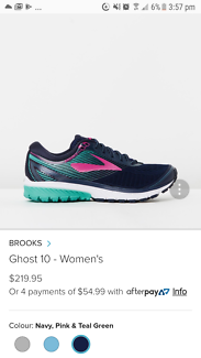 WOMENS BROOKS GHOST 10 SHOES