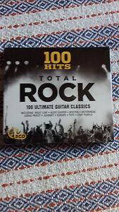 5 CD's 100 Hits Total Rock - neu und eingeschweißt -