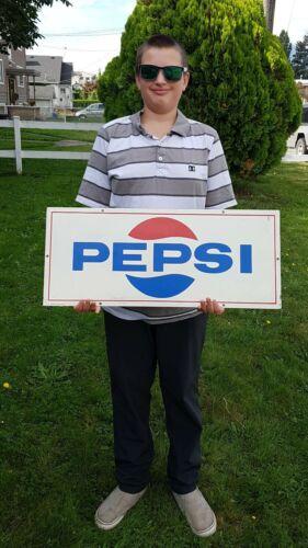 Original Vintage 1971 Pepsi Sign