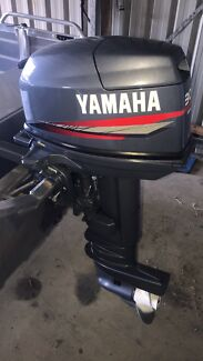 30hp yamaha 2 stroke outboard  long shaft (80hrs)