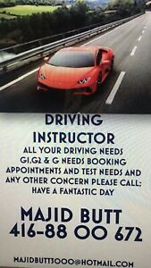 DRIVING INSTRUCTOR Ministry of TransportationApproved&Certified
