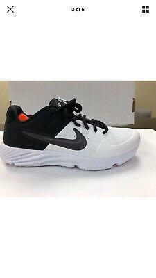 NIKE AIR ALPHA HUARACHE ELITE 2 TURF BASEBALL BLACK MENS NEW SIZE 8 AJ6877-102 Nike Huarache Elite
