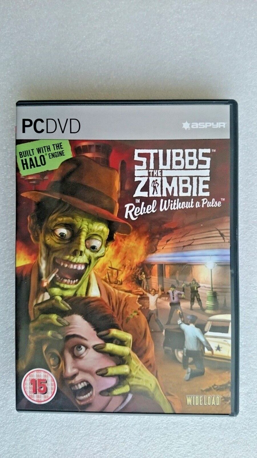 Stubbs The Zombie - A Rebel Without a Pulse (PC: Mac, 2005)