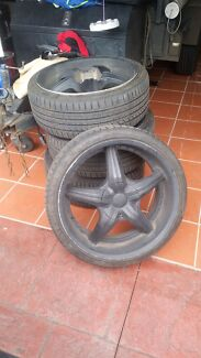 20 inch rims with low profiles included Pascoe Vale South Moreland Area Preview