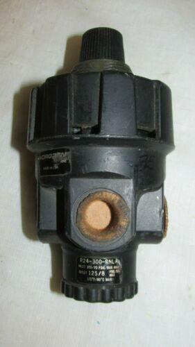 Norgren Air Pressure Regulator R24-300-RNLA LQQK!