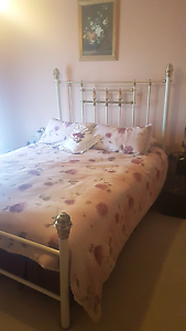 Brass Bed  Queen West Lakes Shore Charles Sturt Area Preview