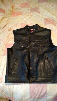 SOA Jax style Leather biker vest