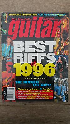 Wolf Marshall's Guitar One Magazine Volume 6 1996 - Best Riffs of 1996 -