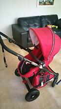 BABY PRAM VALCO BABY ZEE SPARK (used 6 months only, looks new) Ashfield Ashfield Area Preview